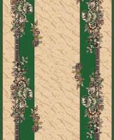 Ковровая дорожка Золушка 013-03 Зеленая