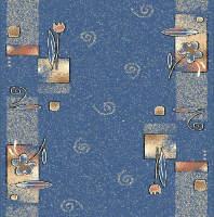 Ковровая дорожка Дебют 77-02 Синяя