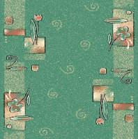 Ковровая дорожка Дебют 77-03 Зеленая
