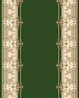 Ковровая дорожка Дежа Вю 10127-03 Зеленая