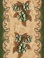Ковровая дорожка Золушка 038-03 Зеленая