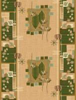 Ковровая дорожка Дежа Вю 30116-03 Зеленая