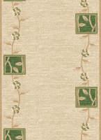 Ковровая дорожка Дежа Вю 30126-03 Зеленая