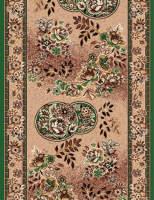 Ковровая дорожка Золушка 011-03 Зеленая