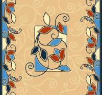 Ковровая дорожка Бриз 30171-02 Синяя